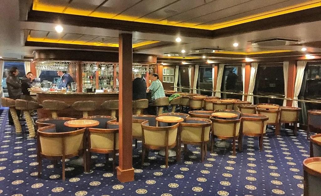 Crucero Australis 5: gastronomía y datos extra