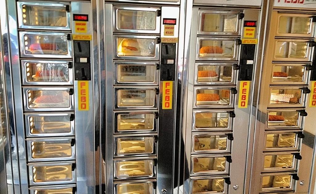 Amsterdam 5: Febo, la versión holandesa del fast food