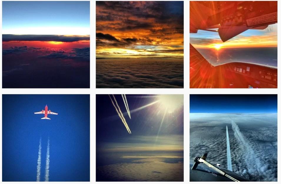 Pilotos en Instagram: sobre aviones y normas de seguridad