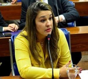 Camila defende nome de Bruno para liderança da oposição
