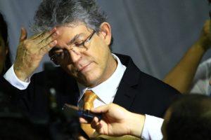 Operação Calvário: Interceptações telefônicas mostram que Ricardo Coutinho recebia mensalão da Cruz Vermelha; Veja o trecho do diálogo