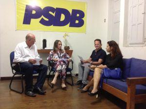 Lauremília Lucena será reconduzida à Presidência do PSDB da capital neste sábado