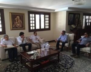 Ministro se reúne com Maranhão e Manoel Júnior para debater conjuntura política
