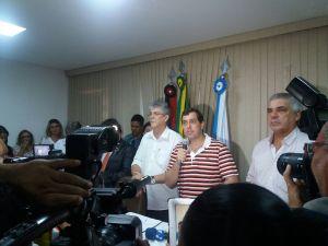 """Gervásio Filho diz que PSB não tem apenas um nome para suceder RC: """"Temos um time"""""""