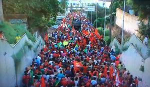 Organização confirma 10 mil pessoas em protesto contra impeachment em JP