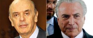 Aliança pré-impeachment: Serra e Temer negociam pacto para governo após queda de Dilma