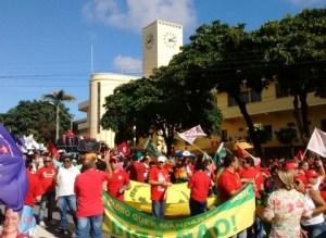 Ato em favor de Dilma realiza protestos hoje em cinco cidades paraibanas