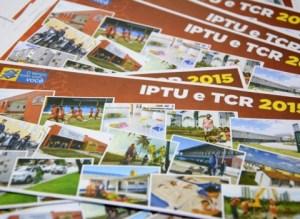 Cota única do IPTU e TCR vence nesta segunda-feira