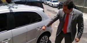 Marmute revela que está sofrendo ameaça de morte e mostra carro ensanguentado; veja vídeo