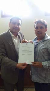 Djanilson da Fonseca oficializa ingresso bancada de oposição a Cartaxo na CMJP