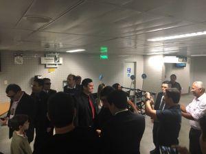 Sérgio Moro desembarca na Paraíba sob forte esquema de segurança para palestra em João Pessoa