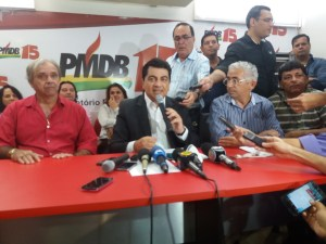 Sem a presença de Maranhão, Manoel Jr anuncia apoio a Cartaxo e vai indicar vice