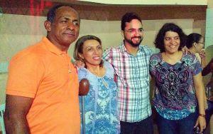 Após plenária, Estela e Cida cumprem agenda juntas em bairros de João Pessoa
