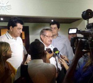 """Maranhão admite apoio do PMDB a Cartaxo: """"Agora é só escolher o vice"""""""