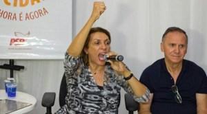 """Em evento político, Cida diz que conta com apoio de """"Ricardo Cunha Lima""""; ouça o áudio"""