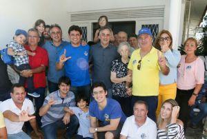 Mais um ex-prefeito da Capital declara apoio à reeleição de Luciano Cartaxo