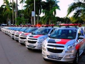 Governador entrega viaturas e fuzis às Polícias Militar e Civil nesta terça-feira