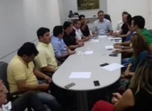 Após apelo de Cartaxo por chapa consensual, Marcos e Durval vão sentar para discutir o assunto
