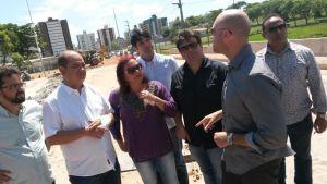 Vereadores de oposição fazem inspeção nesta terça-feira na barreira do Cabo Branco