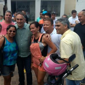 Saudado como futuro governador, Cartaxo diz que não se incomoda com manifestações