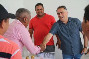 """É importante a gente trocar experiência"", diz Cartaxo sobre visistas a outras cidades"