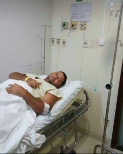 Após cirurgia, vereador descarta tirar licença da Câmara Municipal de Bayeux