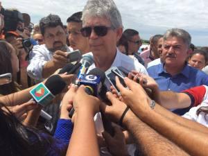 Ricardo Coutinho vistoria obras da Perimetral Sul na segunda-feira