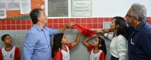 Cartaxo entrega reforma de creche no bairro São José e amplia vagas no berçário