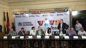 Durante entrevista coletiva, Ricardo afirma que Cagepa não será privatizada