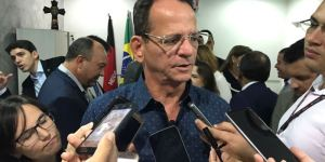 """Após reunião, Marcos Vinicius ressalta sintonia com Cartaxo: """"Estamos na frequência 55"""""""