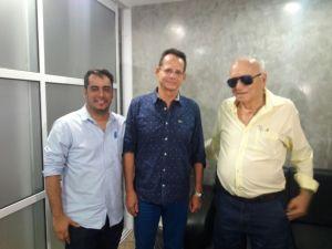 Presidente da CMJP recebe visita de cortesia do vice-prefeito de Campina Grande
