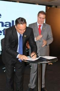 Cartaxo é eleito para diretoria da Frente Nacional de Prefeitos junto com João Dória