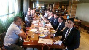 Em Brasília: Galego Souza se reúne com ministro da Saúde, líder do governo e prefeitos