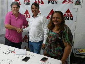 Com problemas de agenda, presidente do PMN adia ato político com Zennedy em JP