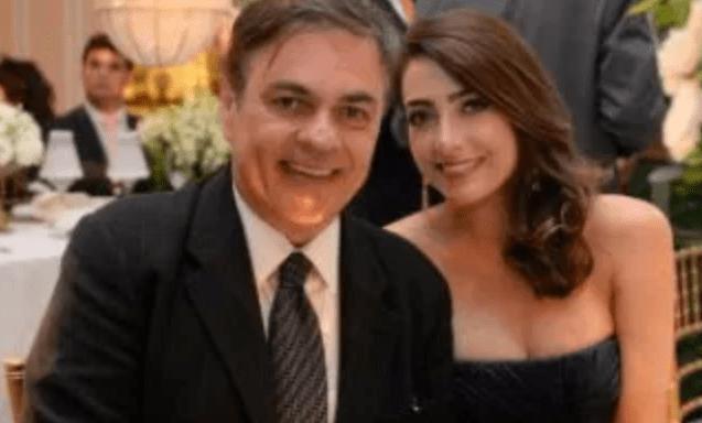 Bastidores: Casado há seis meses, Cássio Cunha Lima será pai pela quarta vez