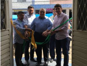 Rômulo participa de reabertura dos Correios e cobra melhoria em aeroportos de JP e CG