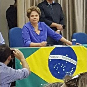 Durante palestra em JP, Dilma destaca parceria estreita com Ricardo Coutinho