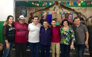 Gervásio visita Caravana do Coração e participa de festejos juninos em cidades do Brejo