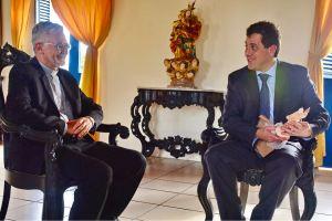 Gervásio Maia visita Arcebispo da Paraíba e destaca ações do Legislativo