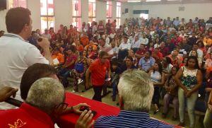Encontro do PSB: Gervásio destaca as ações do governo no Sertão