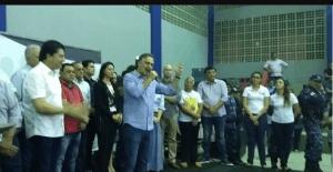 Cartaxo entrega novo Ginásio Hermes Taurino e amplia espaços para esporte