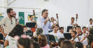 Instrumento de transformação: PMJP inaugura terceira unidade do Ação Social pela Música