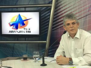 """O PMDB foi enganado por Luciano Cartaxo"", dispara Ricardo Coutinho"