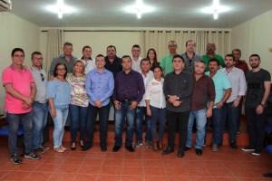 Panta reúne vereadores em apresentação de projeto de infraestrutura para Santa Rita