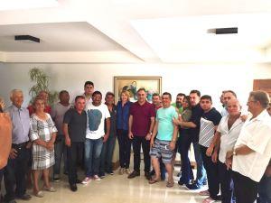 No Sertão, Cartaxo faz visitas em Sousa e se reúne com lideranças de São José de Piranhas