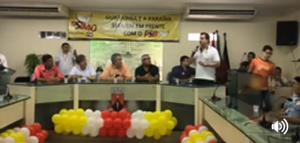 """""""A oposição não vai suportar o sentimento popular"""", diz Gervásio em encontro do PSB"""