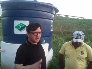 Incra entrega obra de abastecimento no assentamento Maria Preta em Araçagi