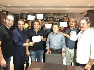Avante filia várias lideranças da Paraíba durante jantar; confira os nomes