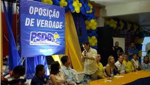 Romero prestigia convenção do PSDB de Sapé e reafirma tese de candidatura própria do partido