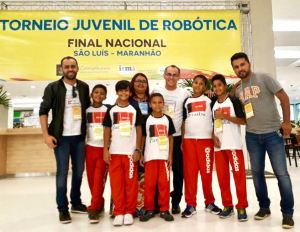 Alunos de Santa Rita conquistam torneio nacional de robótica no Maranhão